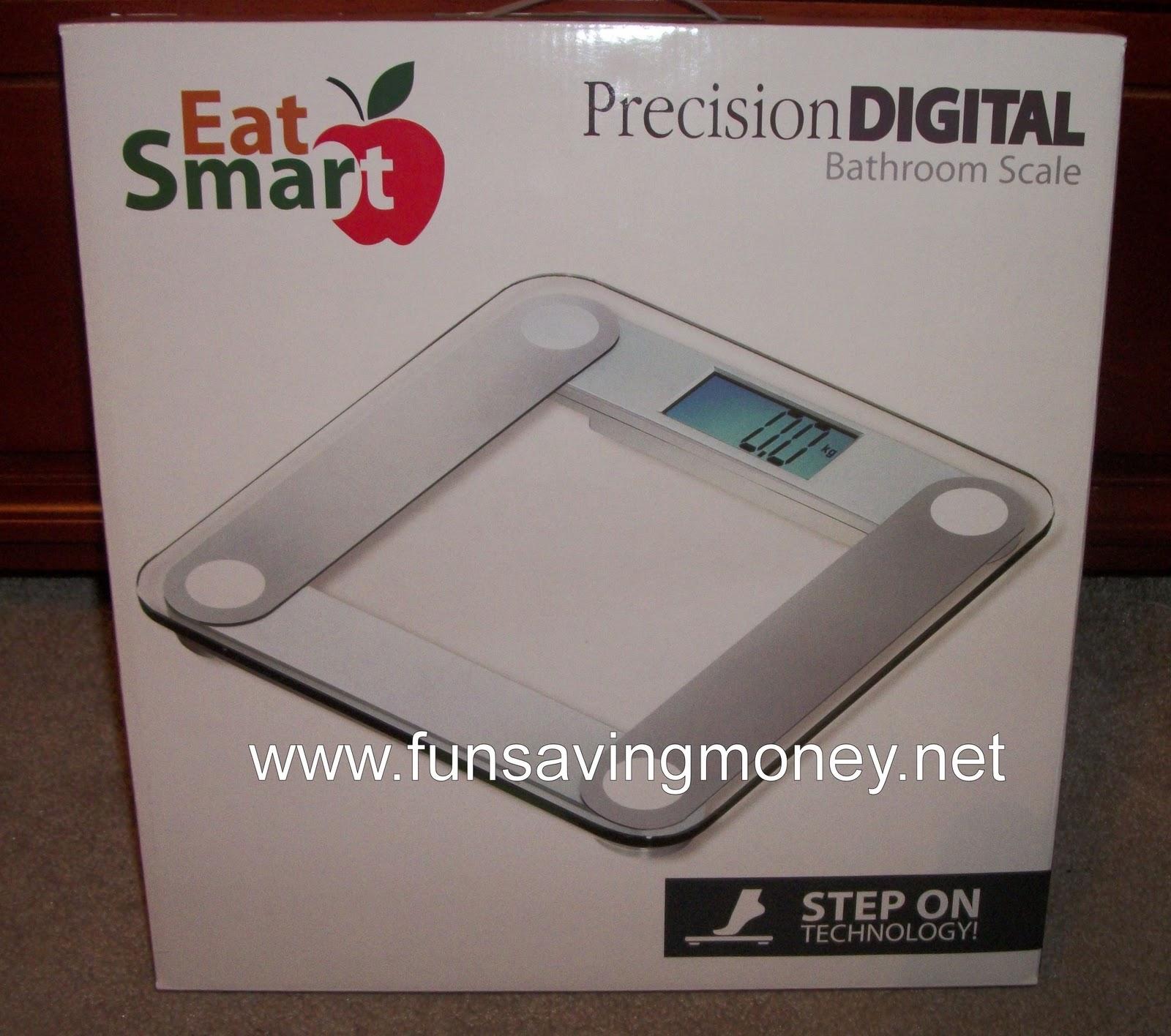 eatsmart digital bathroom scale review and giveaway mom