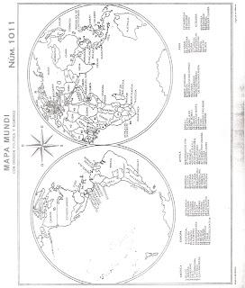 Mapamundi Con Nombres De Paises Y Capitales Lmm Board
