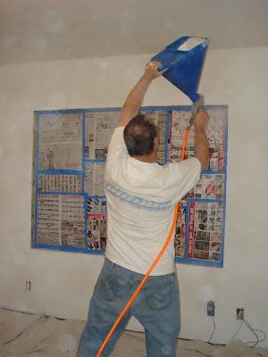 Russ adding wall texture