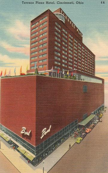 kentucky travels postcards terrace plaza hotel