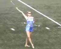 UPenn baton twirler