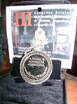 "Acreedor de la PRESEA NACIONAL DE ARQUEOLOGIA 2010""BENEDICT WARREN""otorgado por la S.M.H.A.G. A.C"