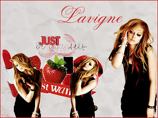 collage avril lavigne simples no photofiltre studio