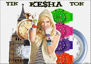 kesha tik tok on the clock collage photofiltre studio