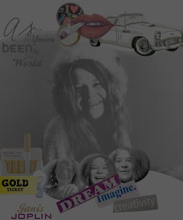 As good... Janis Joplin collage photofiltre studio
