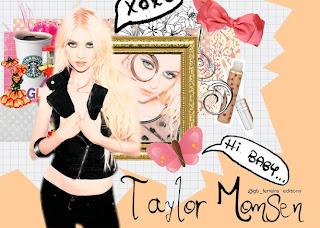 Taylor Momsen - Collage no photofiltre studio
