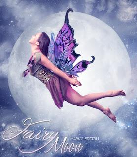 Fairy Moon manipulação no photofiltre studio