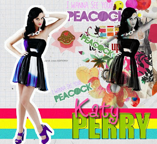 I wanna see your Peacock katy perry collage no PFS