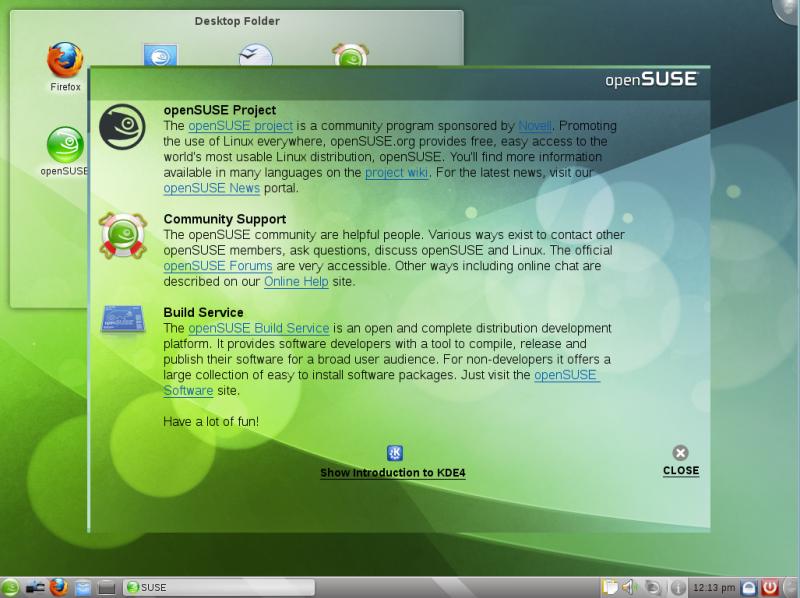 OpenSUSE 11.3 dengan KDE