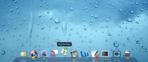Tampilan default Avant Window Navigator