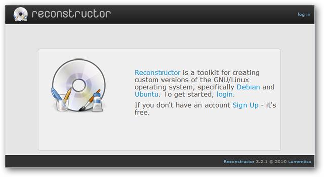 Reconstructor: Buat CD Ubuntu versi kamu