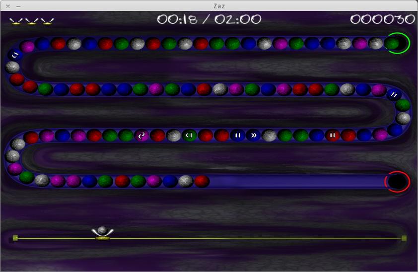 Zaz: Puzzle game seru untuk Ubuntu