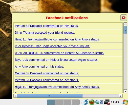 Notif Facebook hadir di desktop kita