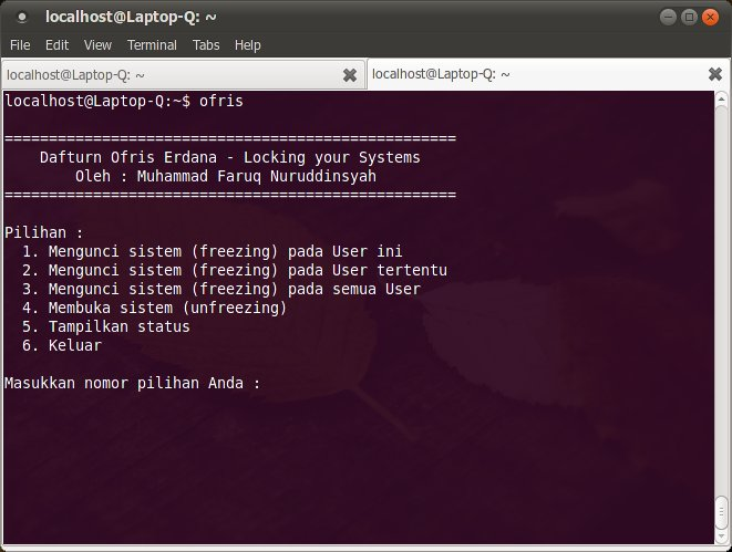 Ofris: Deep Freeze for Linux