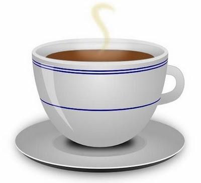 Mendesain cangkir kopi
