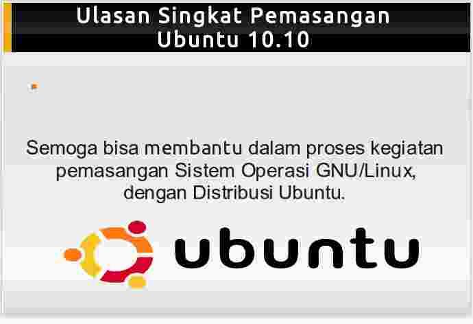 Ebook panduan instalasi Ubuntu 10.10 Maverick Meerkat