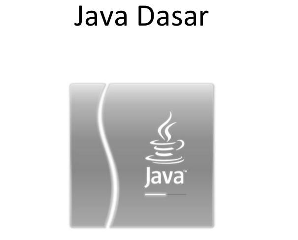 Ebook Java Dasar