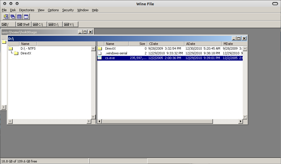 Cari file installer Counter Strike 1.6