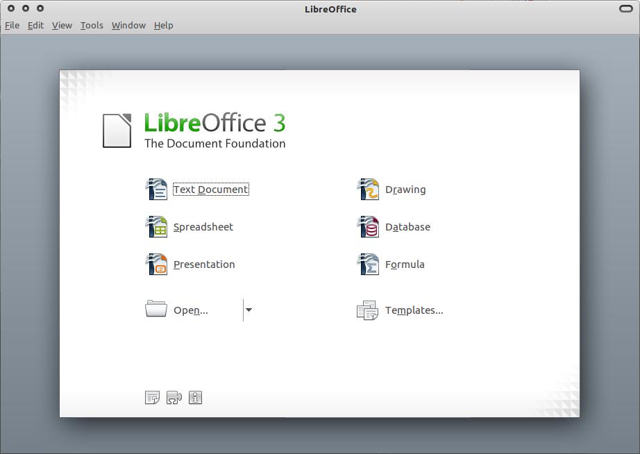 LibreOffice 3.3 di Ubuntu 10.10 Maverick Meerkat
