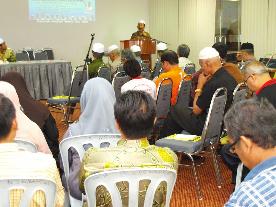 Rasmi Mesyuarat Agung PPBBB & Forum Pemikiran Bangi