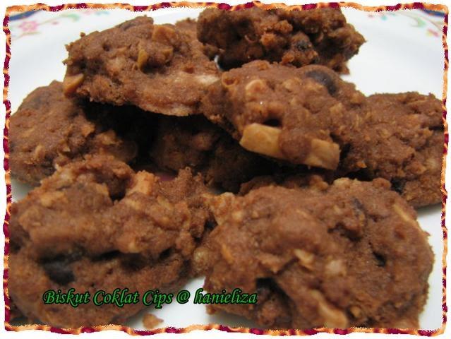 Resepi Chocolate Chip Cookies Sukatan Cawan