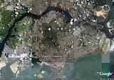 Esta é uma foto de Cingapura vista do alto.