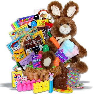Dont read this its boring easter goodies much is too much no matter their age when it came to easter baskets the items they received had to fit in the baskets they would never have gotten the basket pictures negle Gallery