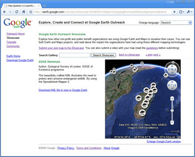 Google Lat Long: Earth Outreach Gets a Makeover on