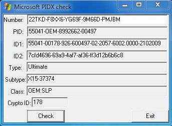 Another Windows 7 Professional SP1 32 Bit Product Key I Use