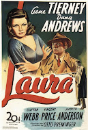 Laura / Gene Tierney, Dana Andrews and Clifton Webb