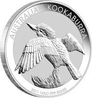 silver kilo kookaburra