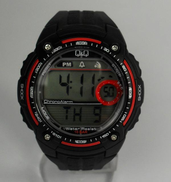Мода и Новий наручний годинник марки Q&Q water resist Мужские наручные часы Q&Q VG30-104 водонепроницаемые