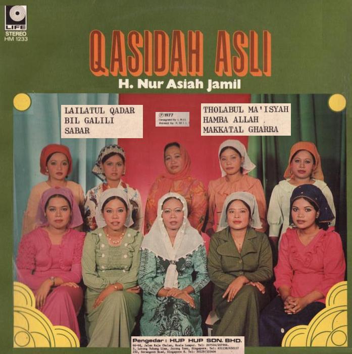 Download Lagu Atouna El: PopOK-NET: Qasidah Asli Oleh Hjh Nur Asiah Jamil