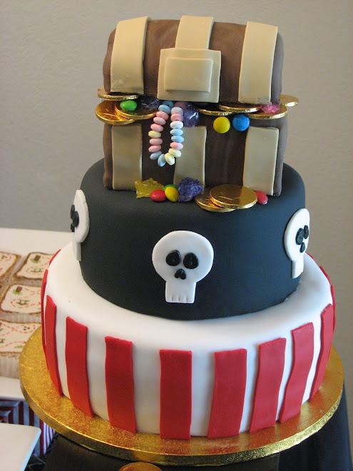 Arash's 2nd Birthday - Pirate cake