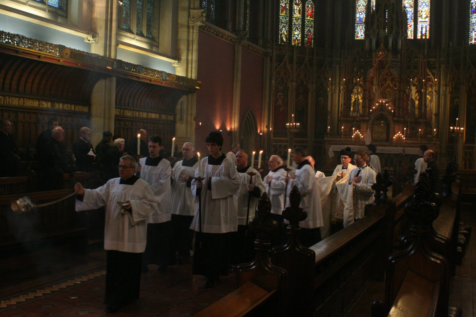The Latin Mass Society RC Diocese of Middlesbrough: Ushaw Priests Training Conference Day Two ...