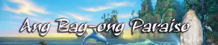 MILAGROSONG TUBIG SA BAG-ONG PARAISO
