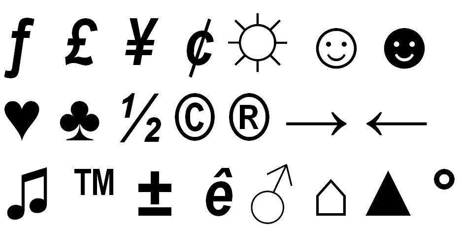 Alt For Cent Symbol
