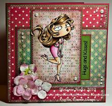 Kraftin Kimmie stamps voorbeelden & challenge blog