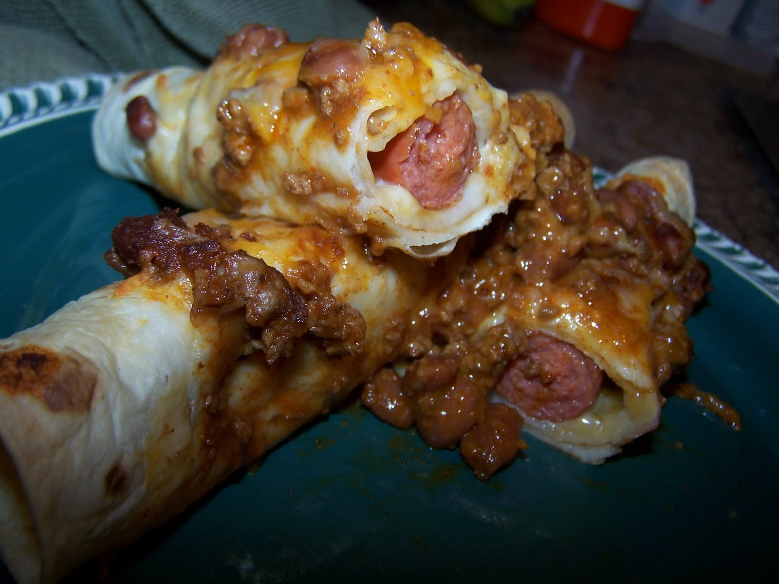 The Peppered Pantry: Chili Dog Casserole