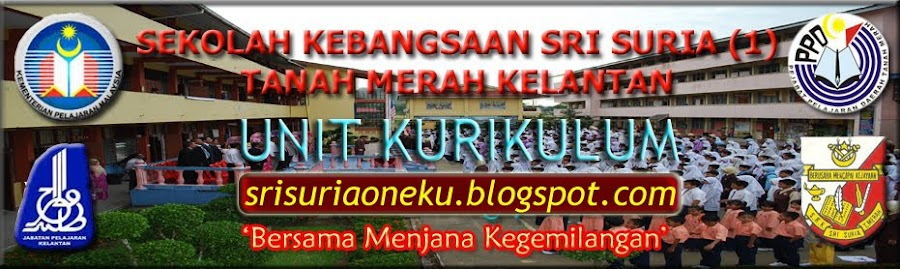 SK SRI SURIA (1) : UNIT KURIKULUM