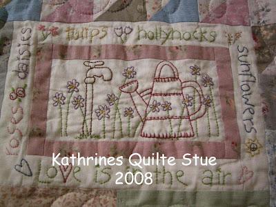 Kathrines Quilte Stue: Ny månedens blokk - Sunshine Frolics!