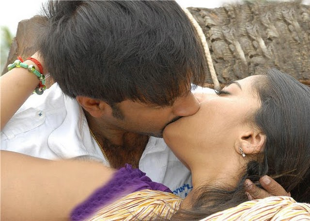 Kiss Scene From Kutram Nadanthathu Enna Tamil Movie Hot Pictures