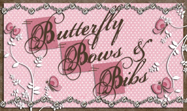 Butterfly Bows and Bibs