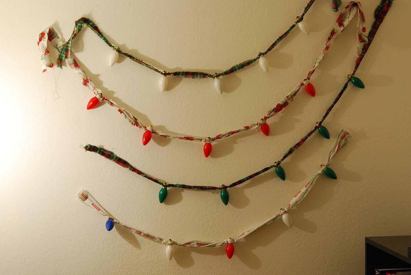 Vintage christmas light garland jill ruth co