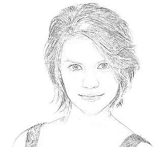 Claire Danes Sketch