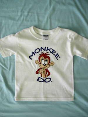 toddler monkey tshirt