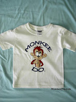toddler monkey shirt