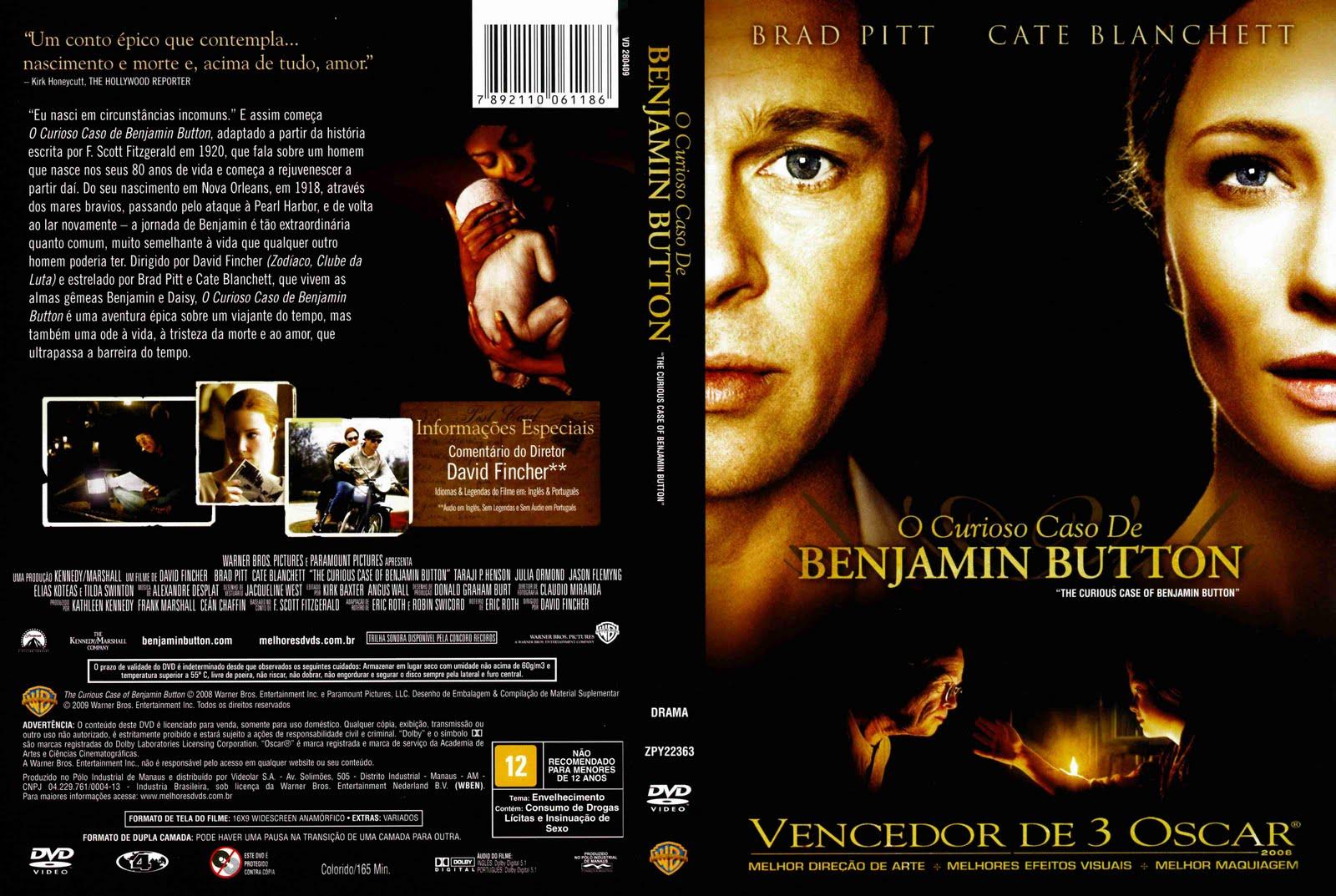 Dj Vini Troca & Venda De Filmes: O Curioso Caso de Benjamin Button