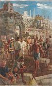 李石樵〈建設〉1947