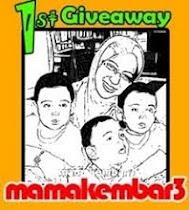 Mama Kembar 3 Buat Giveaway, Ya